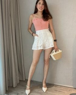 Fully Lace Pearl Pants